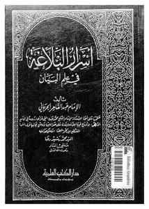 كتاب البلاغة والنقد