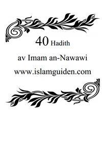 40 Hadith av Imam an-Nawawi